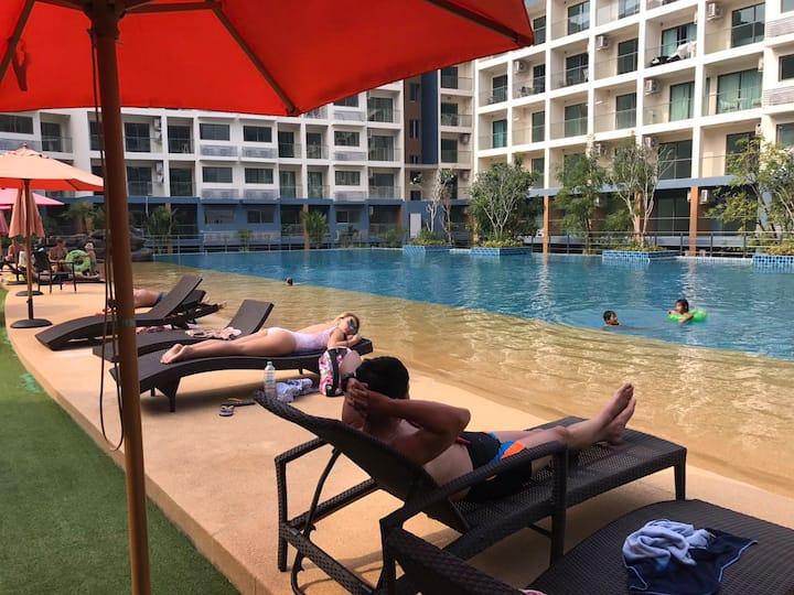 Pattaya Blue Lagoon Apartment Jomtien Beach resort