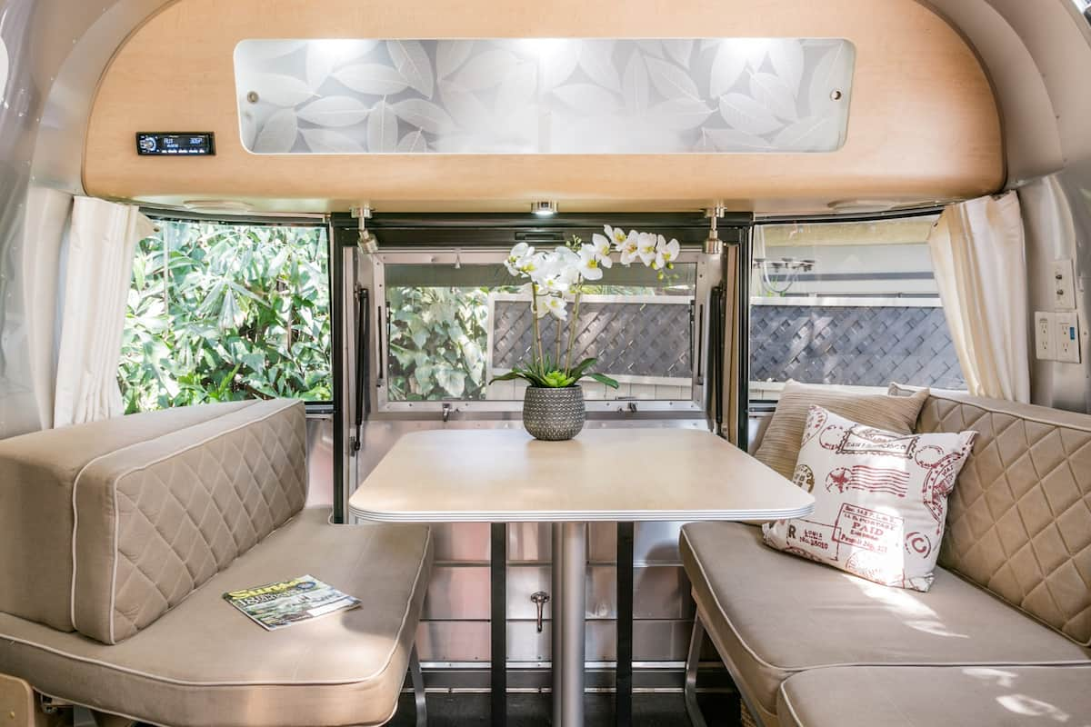 Explore Altadena from Luxe Airstream Set in Serene Grounds