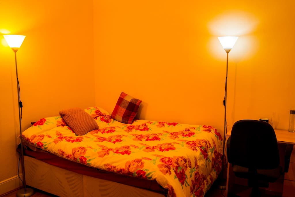 Comfortable spacious Room.