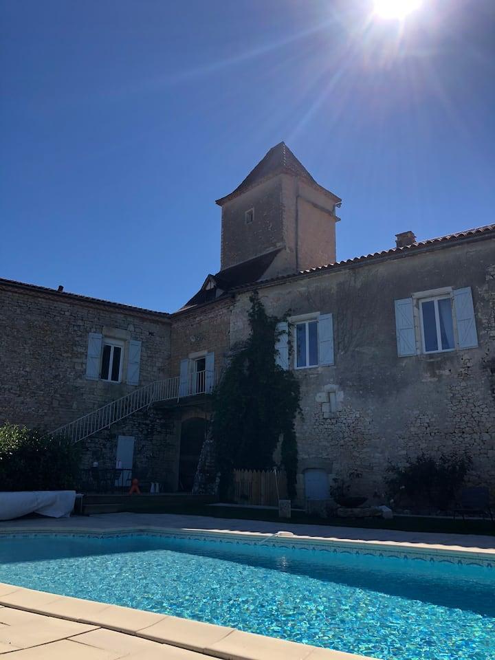 Chambre  d'hôtes - piscine clim - proche Cahors
