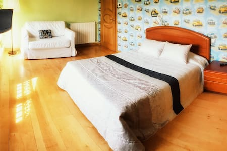 Bed & Breakfast & Jacuzzi 15 MIN BILBAO/SEA - Haus