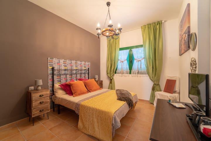 Villa b&b a Lanzarote, Stanza Solar Plexus