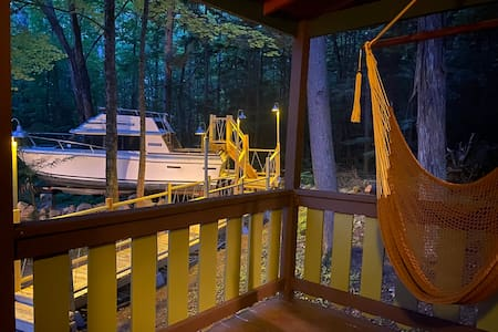 Shipwrecked at your cabin in Lake George