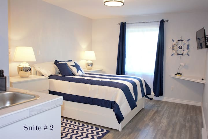 BANK on a Comfortable stay at the Baie!  Suite #2