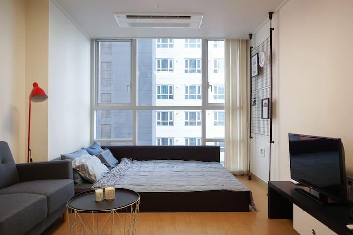 NEWLY OPEN! | Hongdae (4min), Gangnam (14min) - Yeongdeungpo-gu - Appartement
