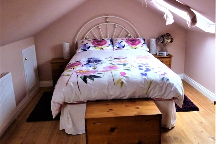 Guest suite in family home, no extra cleaning fee.