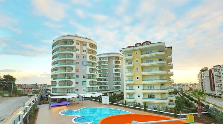 Квартира в отеле-комплексе Emerald tower. incekum