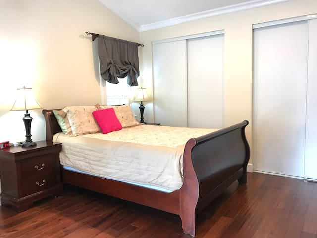 Master Bedroom, Separate Entrance, Private Bath!