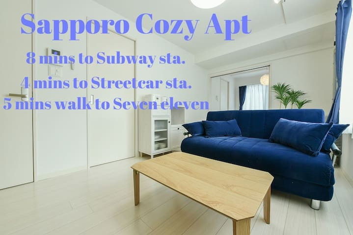 (1691)New Open in Sapporo!Free wi-fi/Free parking