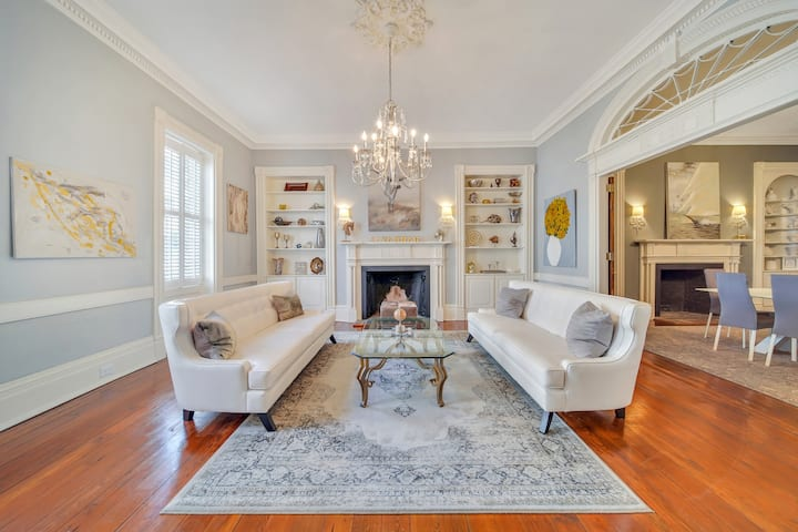 2 Br 1822 Mansion in Heart of Historic Downtown Location!!!!!