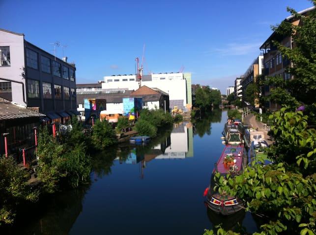 Shoreditch Canalside Apartment