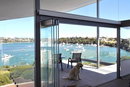 ON RIVER-FRONT! ARCHITECT HOME & WALK TO THE BEACH - North Fremantle - Haus