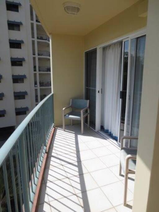 Balcony Facing garden