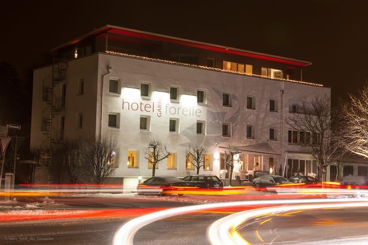 Hotel Forelle -  EZ, DZ, 3-Bett, Mehrbettzimmer
