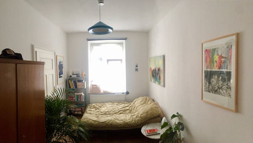 Centrally Located Bright Room in Large Apartment