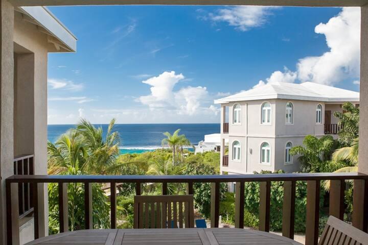 Fountain Ocean View Studio Suite Penthouse - Shoal Bay