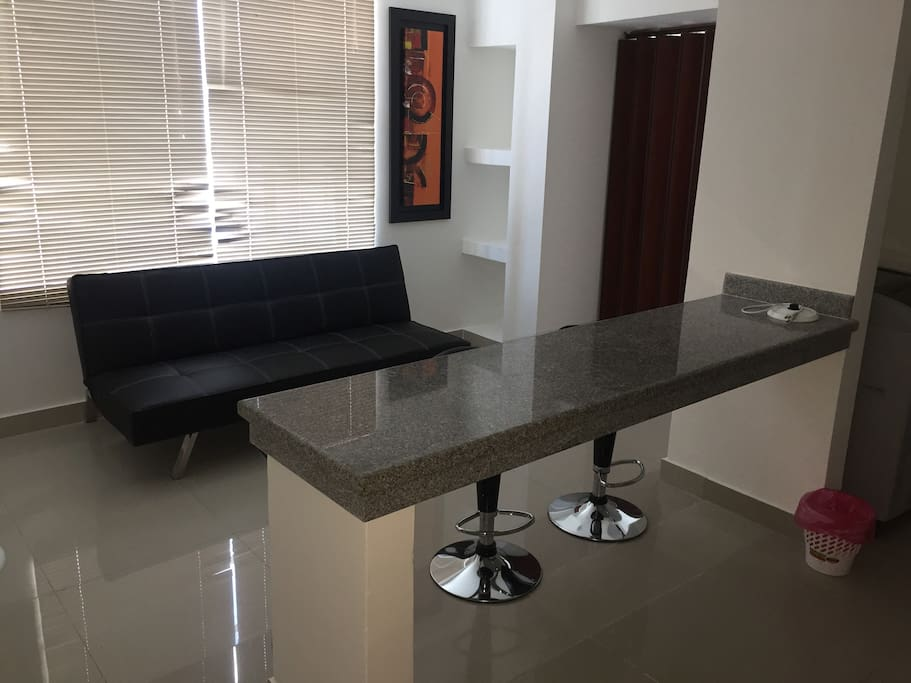 Dining area and living room/ Sala-comedor