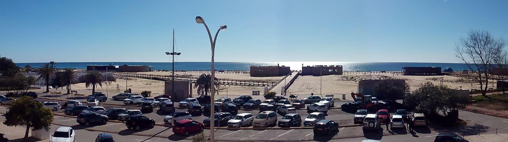 Apartamento acolhedor com vista mar