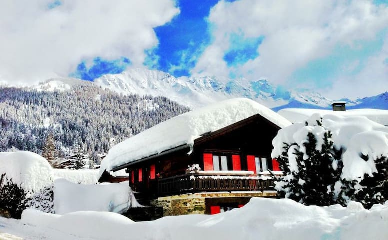 Pretty 2 bedroom Chalet in Verbier - Bagnes