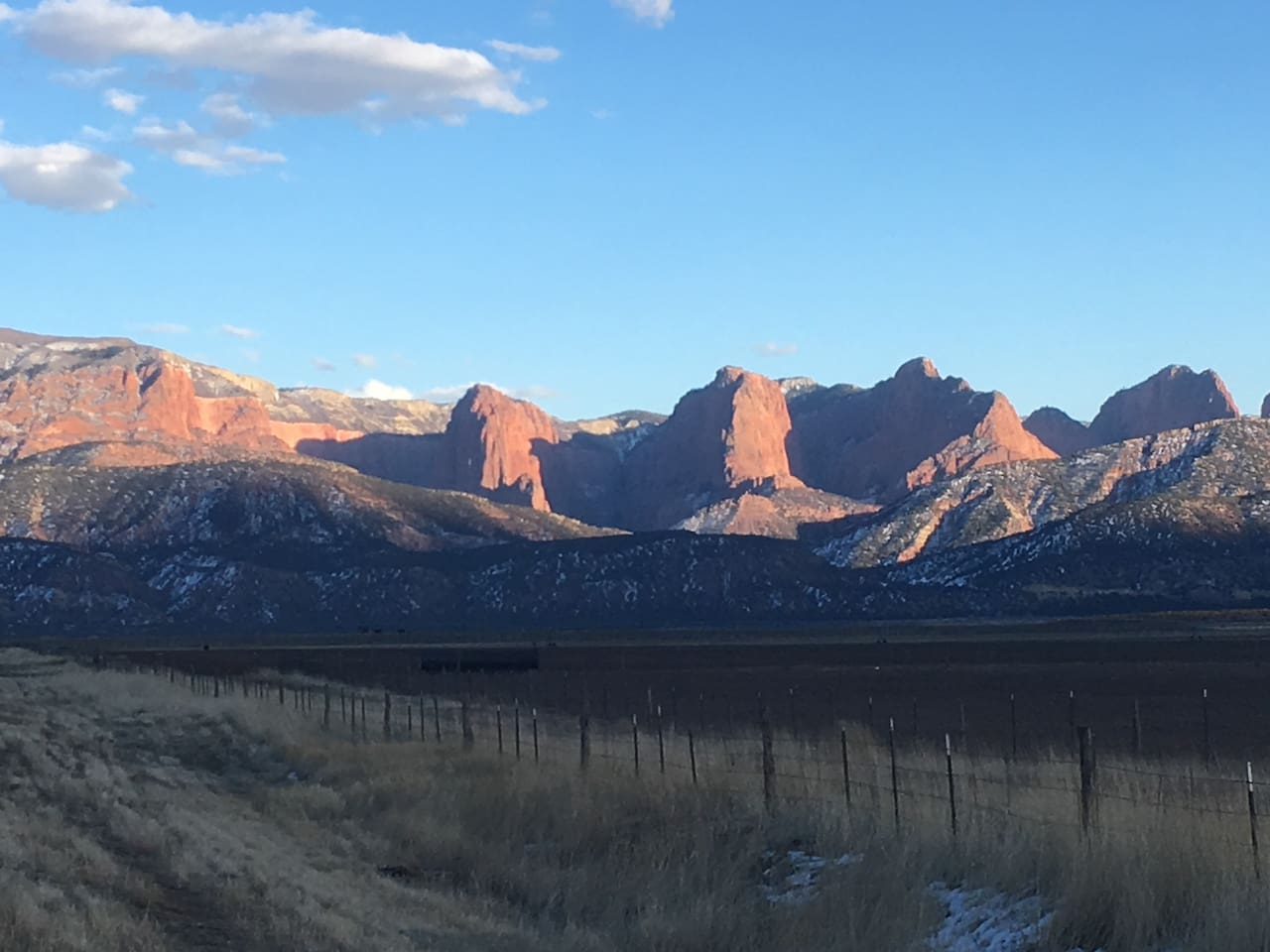 Kolob National Park - 10 minutes away