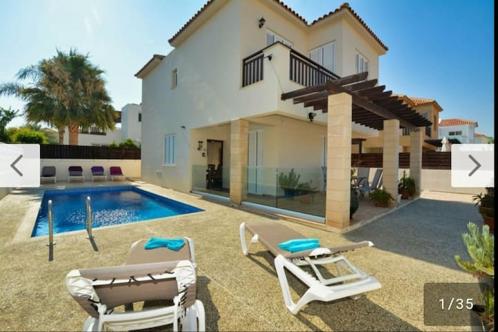 AYIA NAPA DREAM - 3 BEDROOM VILLA WITH POLL