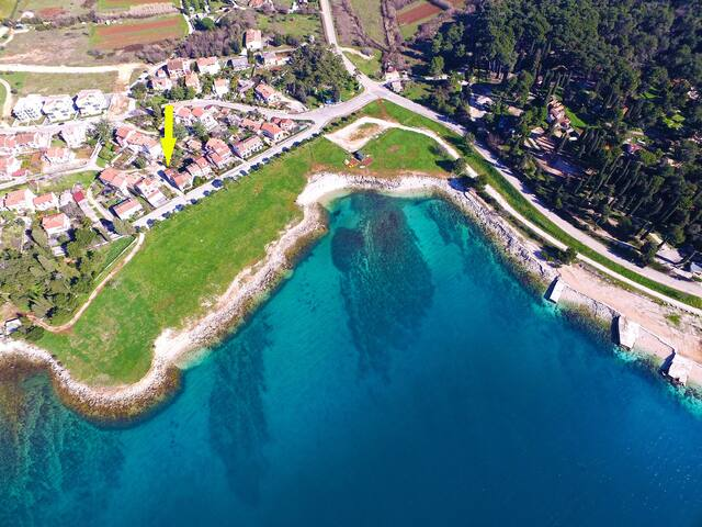 """700"" Apartment near sea in Rovinj"