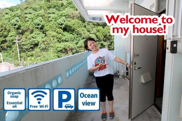 Okinawa 北部エリア☆I am a nurse☆clean and safe room☆