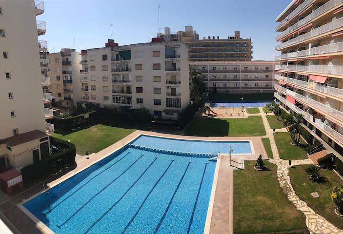 Flat on first line to the beach in Malgrat de mar!