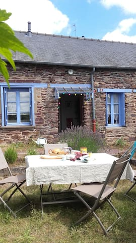 Next to Broceliande Forest - Monterfil - Casa