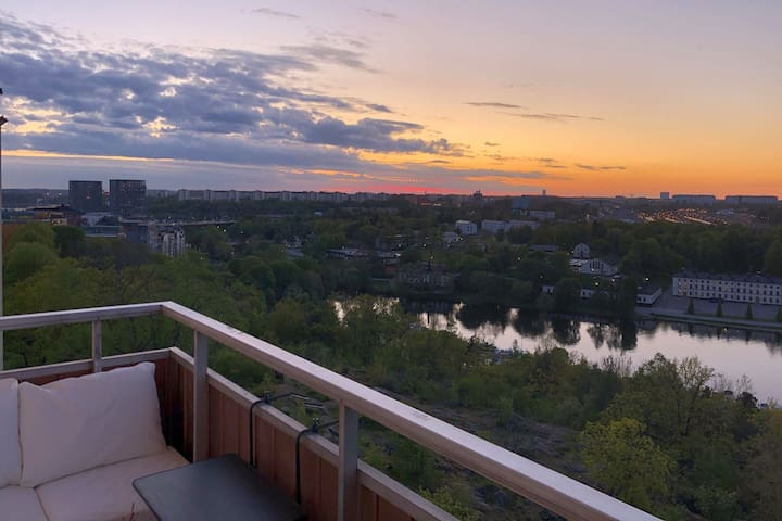 Apartment with amazing view- Kungsholmen Stockholm