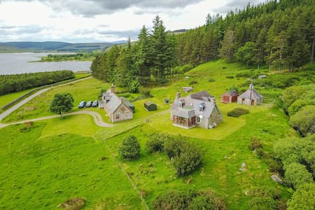 Tranquil, traditional highland cottage