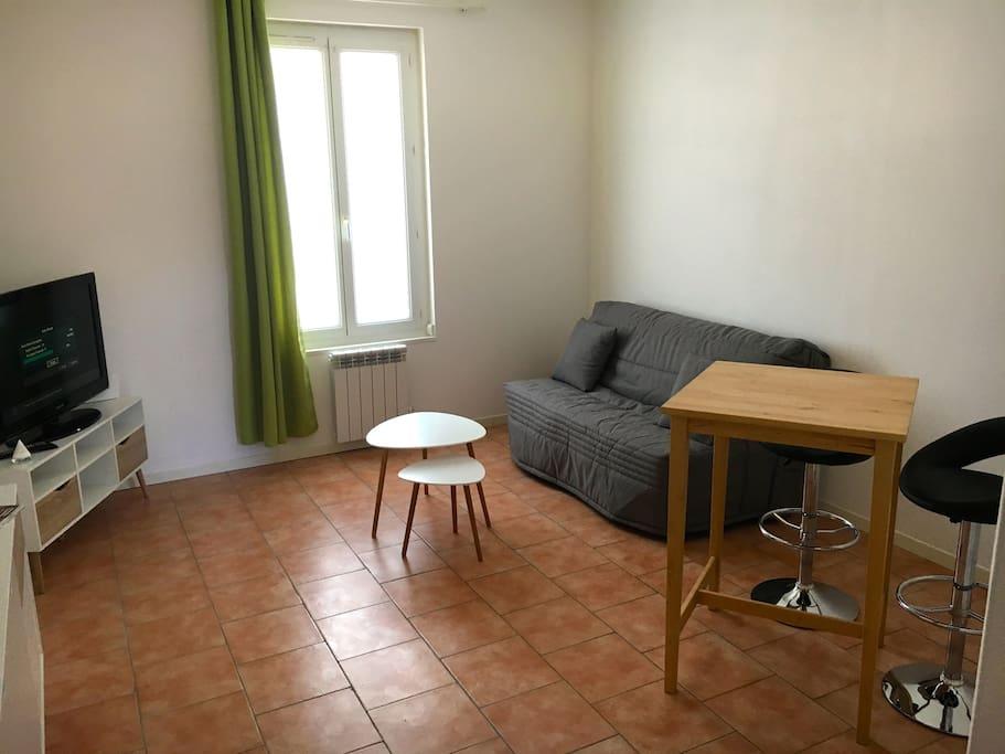 studio agr able 31m2 proche gare et centre ville appartements louer le havre normandie. Black Bedroom Furniture Sets. Home Design Ideas