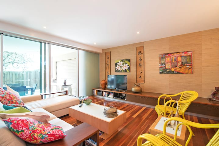 Tropical life steps from the beach - Byron Bay - Apartemen