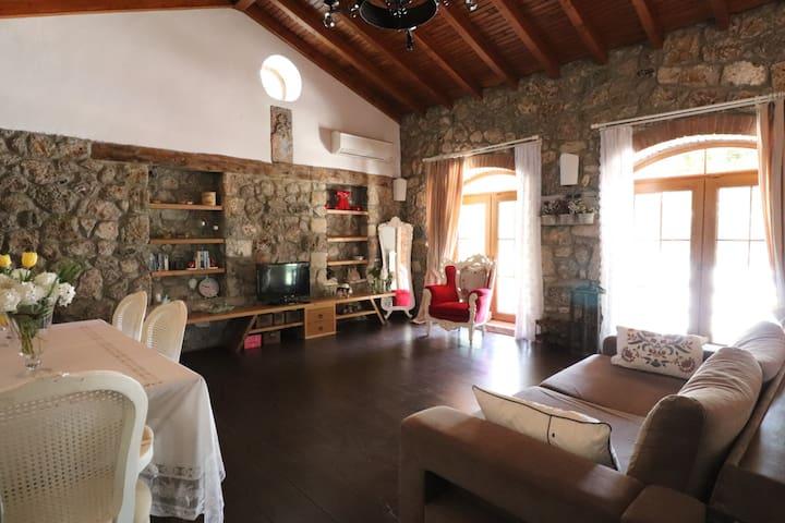 BLN1 Kayaköy'de Doğa İçi Özel Havuzlu 2+1 Villa