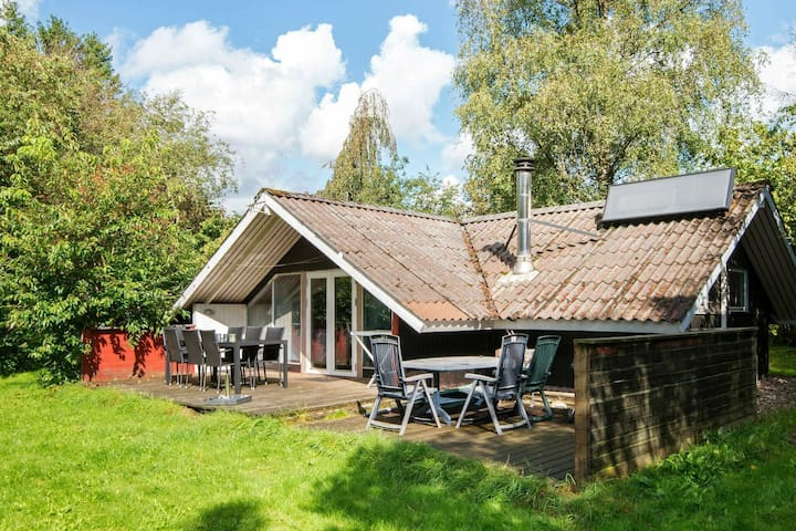 Rustic Holiday Home in Jutland Denmark with Barbecue
