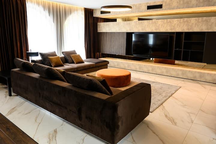 Luxury designer apartment with private SPA