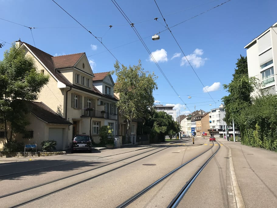Tram Station (170m from house)