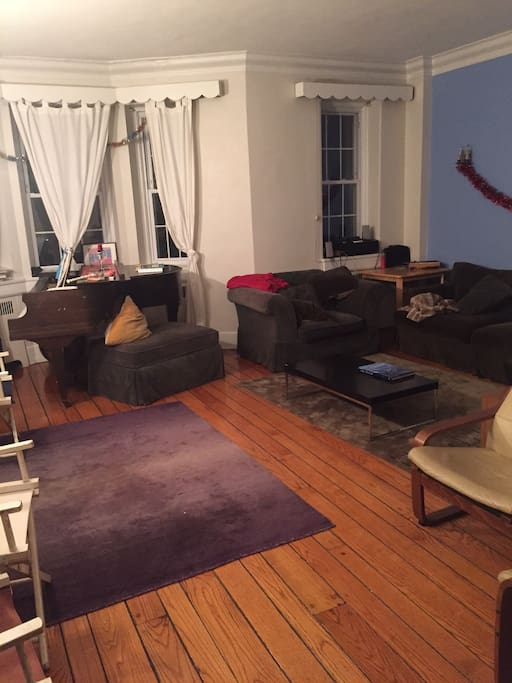 Private bedroom w ensuite bathroom in huge house for Rooms for rent in nyc with private bathroom