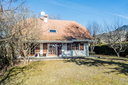 Large 4 bedroom home in the hills outside Geneva - Bonne - Haus