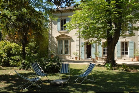 Une propriété XIXème typique des alentours d'Avignon