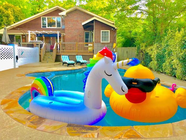 NEWHeated Pool/Jacuzzi Luxury by Virginia Highland
