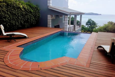 Villa in Saint Lucia with Sea view and Pool...