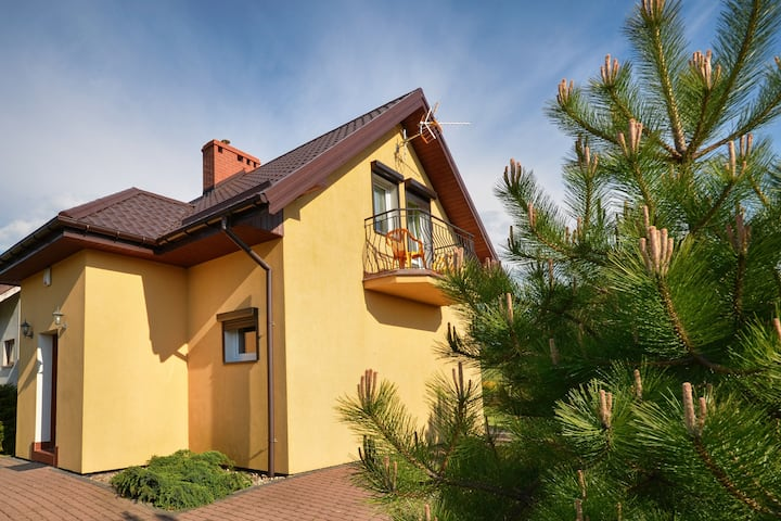 Large Holiday Home in Jaroslawiec with Barbecue