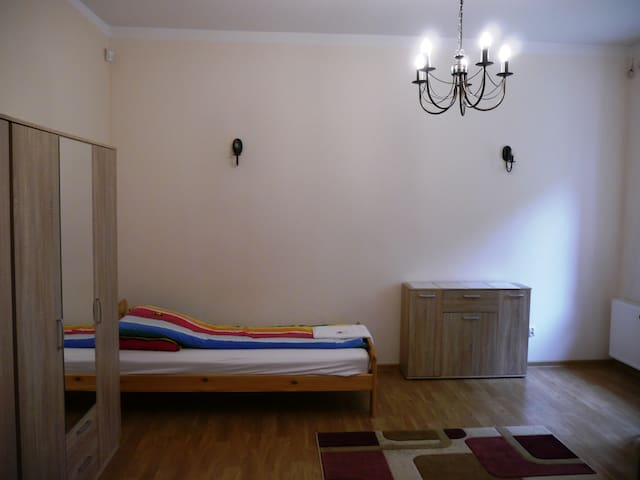 New quiet prv room with garden in the city center