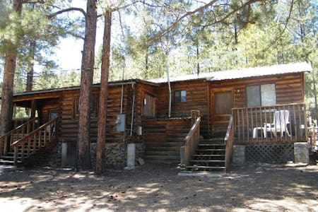 With2Beez Rustic Forest Cabin