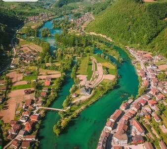 Schönste Stadt in Bosnien und Herzegowien