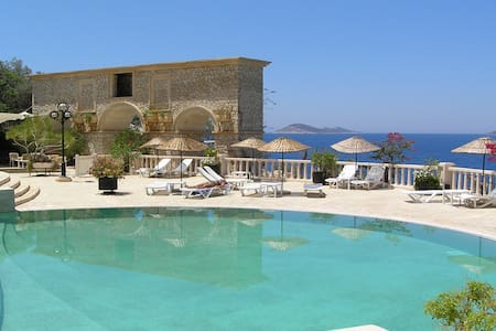 Luxury Penthouse: seaside estate & Hotel,Pools,Spa - Kalkan