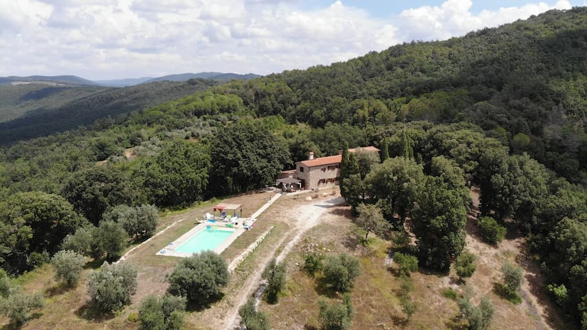 Country house- private pool sauna and fitness room