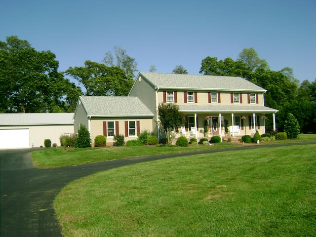 Roomy, close to beach, outlets and Dogfish Brewery - Milton - Bed & Breakfast