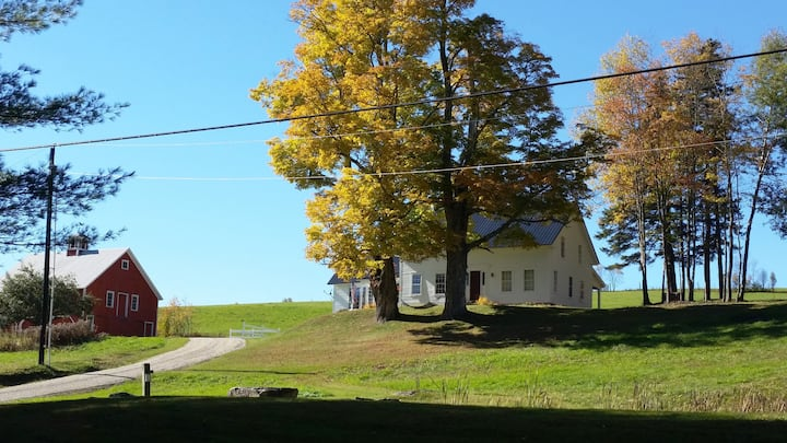 Quintessential Vermont Farmhouse